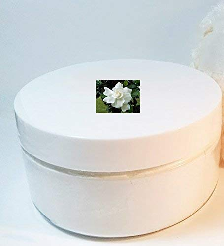 Lily of the Valley Scented Silk Powder Boxed Gift Set - 8 oz Jar Silky Powder and Silky Ivory Powder Puff