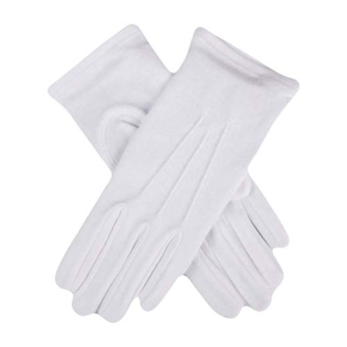Dents Cotton Gloves - White