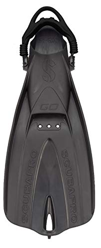 Scubapro Go Open-Heel Travel Fin M - L Black
