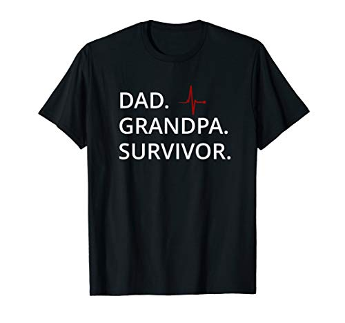 Survivor T-shirt Green - Mens Dad Grandpa Survivor life Victory T-Shirt