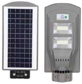 Farola Solar LED con Detector de Movimiento y Sensor Crepuscular, Energía Limpia, Potencia 40W, Distancia de detección 8-12 m, Ángulo de detección 120°, Color Plata: Amazon.es: Bricolaje y herramientas
