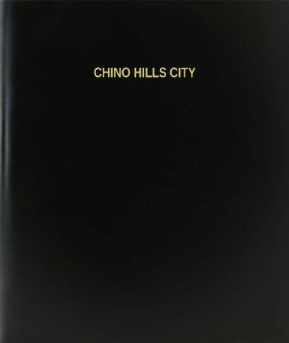 BookFactory® Chino Hills City Log Book / Journal / Logbook - 120 Page, 8.5