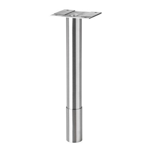 Ikea Legs round stainless steel pack of 2 by IKEA