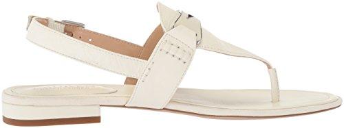 Lauren Ralph Lauren Women's Dayna Flat Sandal Vanilla g6GG1687