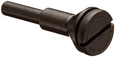 "Weiler 56491 Mandrel for Type 1 Cutoff Wheel, 1/4"" Diameter Shank, 1/4"" and 3/8"" Arbor Size"