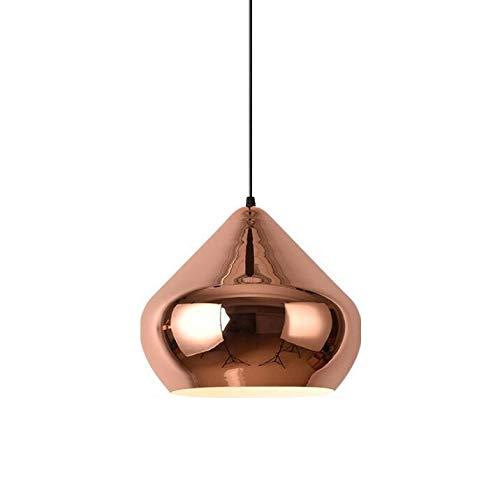 Mirror Ball, Adjustable Mirror Ball Pendant Lamp, Creative Iron Art Restaurant Simple Modern Home Living Room Bedroom Ceiling Light Lamp,Whitelight,30cm ()