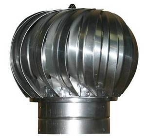 Turbine Ventilator - Heavy Grade(14 Inch Metal) by Luxury Metals LLC (Image #1)