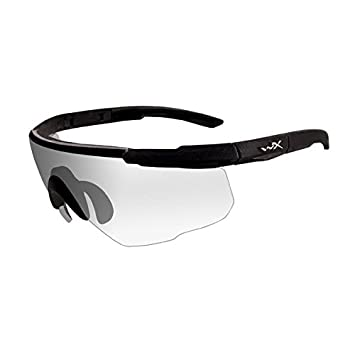 Wiley X Saber Advanced Sunglasses, Clear, Matte Black