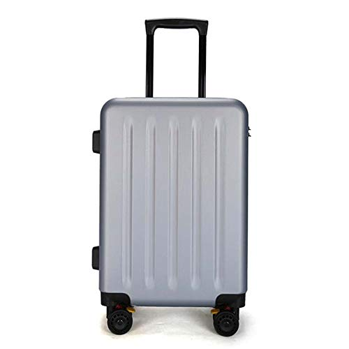 Trolley case PC Material Simple, Frosted Luggage, Roller Walking Rolling Box, 20