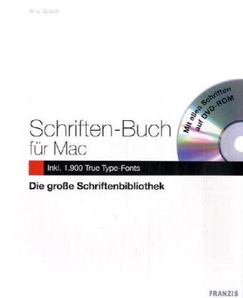 Schriften-Buch für MAC