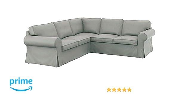 Funda de repuesto para sofá IKEA Ektorp 2 2 de algodón grueso, hecha a medida para sofá esquinero o seccional IKEA Ektorp