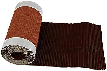 In weiteren Farben erh/ältlich Farbe: schwarz Premio 5m Aluminium Firstrolle // Gratrolle Breite: 300mm starke Haftung und hohe Flexiblit/ät auch bei profilierten Dachziegel Made in Germany