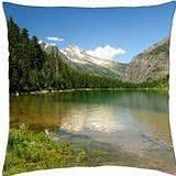 Avalanche Lake - Throw Pillow Cover Case (18