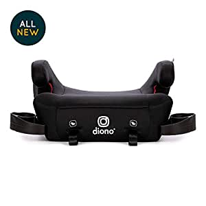 Diono Solana 2 Backless Booster Seat, Black