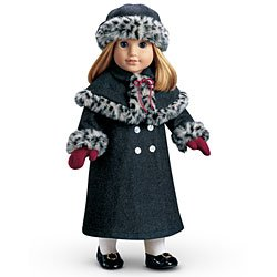 American Girl Nellies Holiday Coat for 18