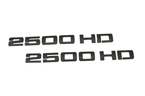 black 2500hd emblem - 8
