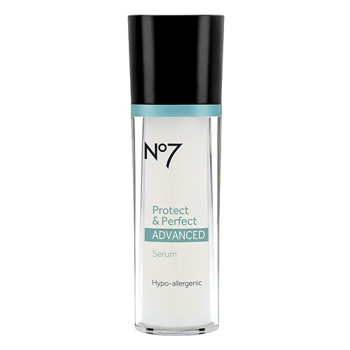 Boots No7 Protect & Perfect Advanced Anti Aging Serum Bottle - 1 oz