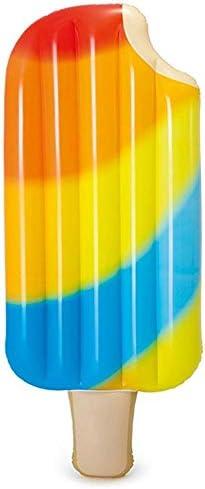 クリエイティブ フローティングロウ アイスクリーム フローティングロウ インフレータブル フローティングパッド ウォータークッション 夏 ポータブル スイミングプール ビーチ フローティングプールデコレーション 大人 子供 カップル ウォータースポーツ