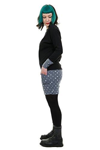 Femme Robes Pull De Avec Robe Hiver Sweat Petite Étoile Des Poches 3elfen wq7aAxnRR