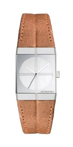 Jacob Jensen 243 Ladies Icon Brown Watch