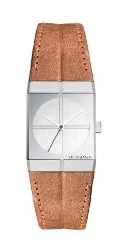 Jacob Jensen 243 Ladies Icon Brown Watch