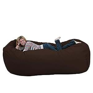Amazon.com: Puf grande y cómodo (8 pies), Microfibra ...