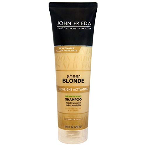 John Frieda sheer blonde Highlight Activating Enhancing Shampoo For Lighter Blondes 8.45 oz ()