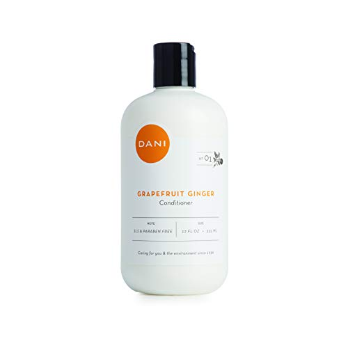 Organics Nourishing Conditioner - Natural Nourishing Conditioner by DANI Naturals - Organic Ingredients Hydrate & Strengthen Hair - Sulfate, Phthalate & Paraben Free - Vegan & Cruelty Free - 12 Ounces (Grapefruit Ginger)