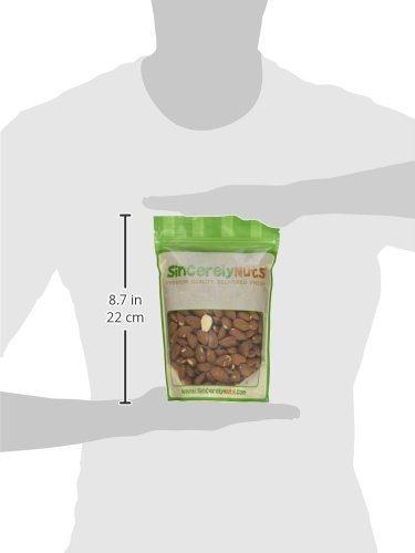 Sincerely Nuts - Natural Whole Raw Almonds Unsalted No Shell | 1 Lb. Bag | Low Calorie, Low Sodium, Kosher, Vegan, Gluten Free | Gourmet Kosher Snack Food | Source of Fiber, Protein, Nutrients by Sincerely Nuts (Image #8)