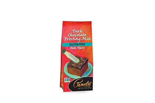Pamela's Products Gluten Free Frosting Mix, Dark Chocolate, 12 Ounce