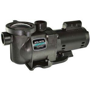 Pentair Sta-Rite N1-1A HP SuperMax Standard Efficient Single Speed High Performance Inground Pool Pump, 1 HP, 115/230-Volt by Pentair