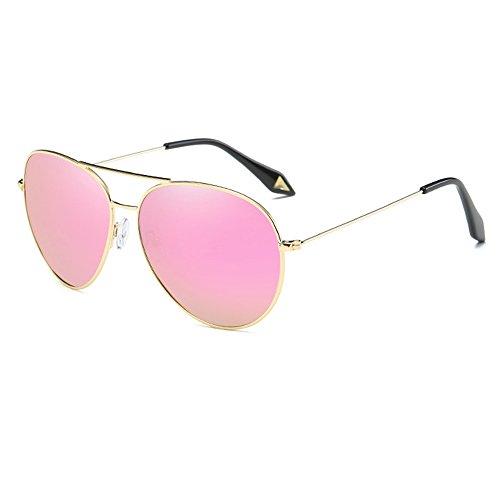 e63be742a4 YZCX Gafas de Sol Polarizadas Aviador Unisex UV 400 Protección Gafas Marco  De Metal 85%