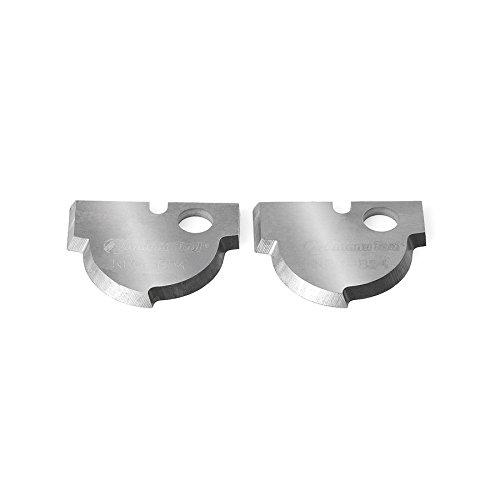 Amana Tool NRC-B54 Pair of Solid Carbide Nova Plunge Core Bo