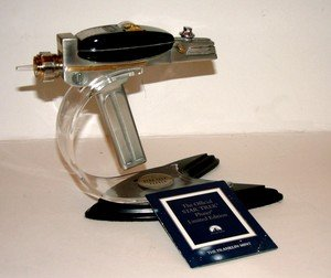Pewter Star Trek Phaser 30th Anniversary By Franklin Mint