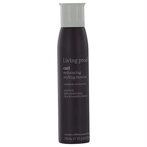 Living Proof Curl Enhancing Styling Mousse for Unisex, 6 Ounce Best Curl Mousse