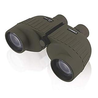 Steiner Military-Marine Series Binoculars, Lightweight Tactical Precision Optics for Any Situation, Waterproof, Green, 10x50