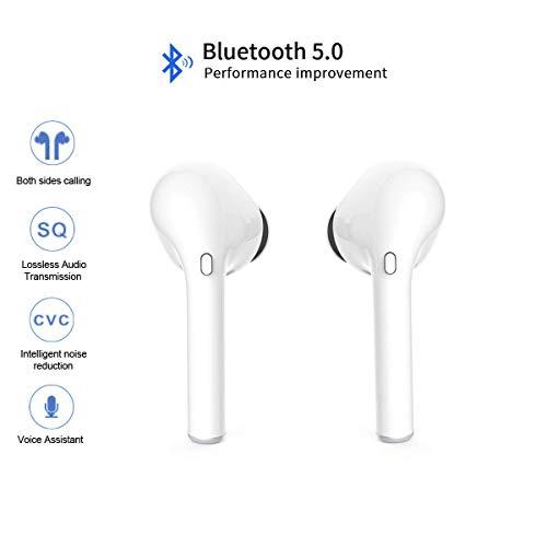 2019 Updated True Wireless Stereo Earbuds Bluetooth Headset in-Ear