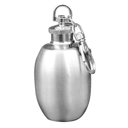 Hip Flasks - Portable 2oz Mini Stainless Steel Hip Flask Alcohol Flagon With Keychain Drinker Decor - England Black Pewter Flasks 16oz 12oz Personalized Liquor Leather Women Shefeld