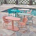 Great Deal Furniture Santa Monica Outdoor Iron Bistro Set