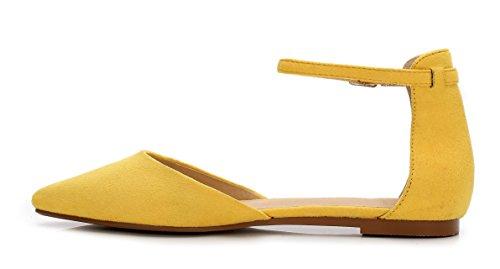 Zeppa Yellow con donna Sandali ComeShun PwzqRxFE0