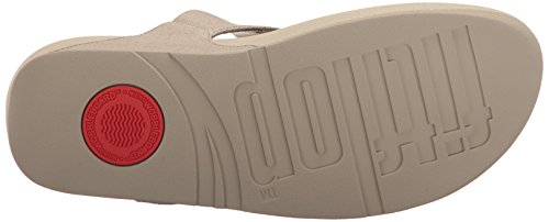 Fitflop Flop Skinny Women's Canvas The Thong Toasty Toe Flip Beige Rq4Rrxw