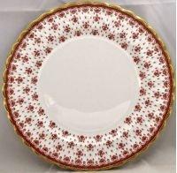 (Spode Fleur De Lys-Red Dinner Plate)
