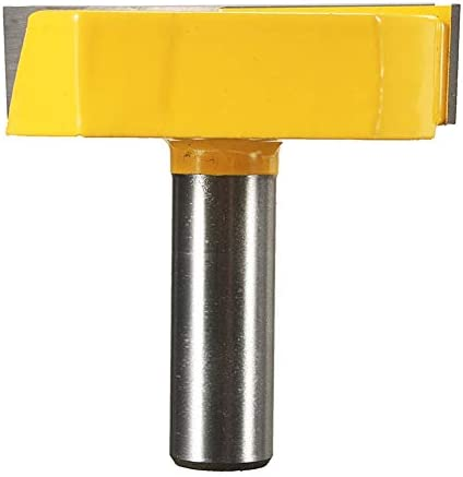Milling Machine Diameter Bottom Cleaning Router Bit Woodworking Milling Cutter 1/2 Inch Shank 2-1/4 Inch