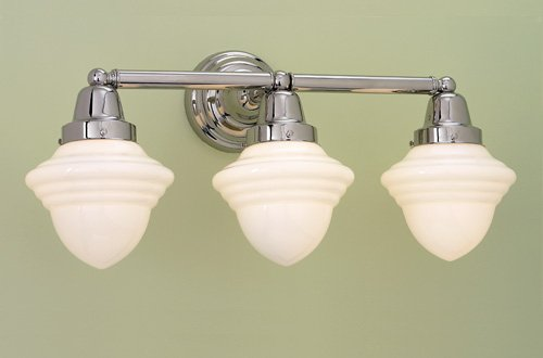 Norwell Lighting 8203-PN-AC - Bradford 3 Light Sconce FINISH: Polished Nickel ()