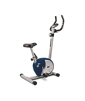 BH Fitness BH 3.0 Bicicleta Estática Plegable, Unisex Adulto, Gris Plateado/Azul,
