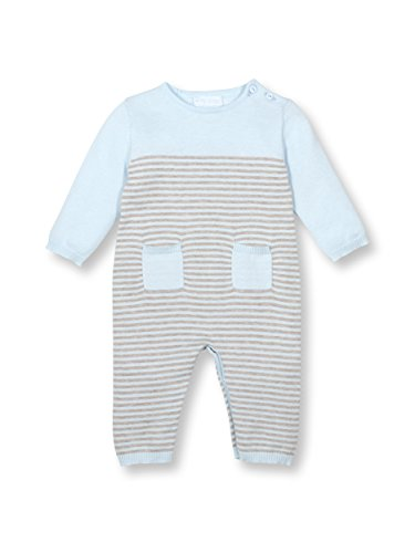 Le Top Bebe Cuddle Up Baby Boy Sweater Knit Onesie Coverall (New Knit Sweaters)