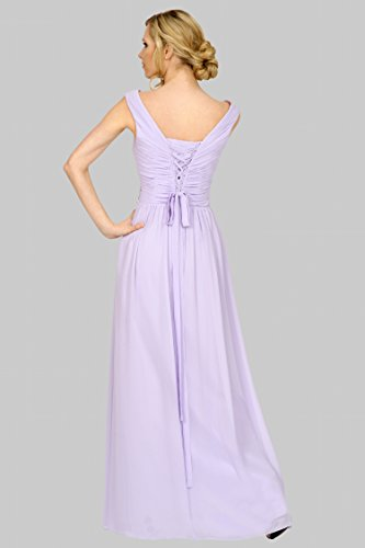 del damas longitud palabra SEXYHER noche las correas 52SC Las de Lilac honor fruncido de entrecruzamiento formal regulares EDJ1751 de de vestido n0xqptCwt