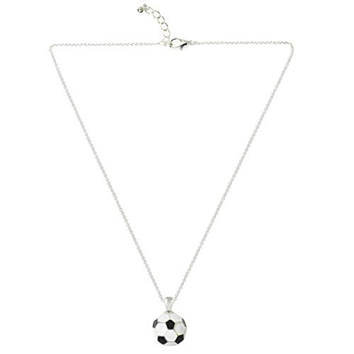D EXCEED Soccer Ball Necklace Gift for Girls Soccer Ball Charm FIFA World Cup Jewelry Gift for Women