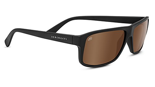 Serengeti 8434-Claudio Claudio Glasses, Satin Black by Serengeti