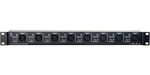 ART S8 Eight Channel Mic Splitter (Eight Channel Splitter)